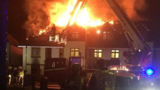 Fire at Connington Court