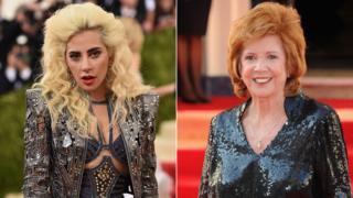 Lady Gaga and Cilla Black