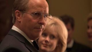 Aktor Christian Bale memerankan karakter mantan wakil presiden AS, Dick Cheney, dalam Vice.