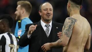 Rafael Benitez amaze gutsinda inkino 34 ku nkino 61 amenyereza umugwi Newcastle