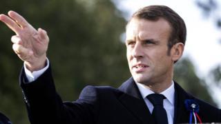امانوئل مکرون، رئیس جمهور فرانسه