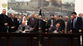 تصویری از ارگ ریاست جمهوری افغانستان