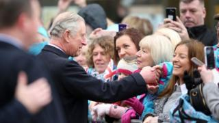 Prince of Wales visiting Hull