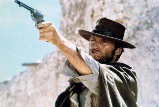 in_pictures Clint Eastwood in the film The Good, the Bad and the Ugly, (1966)