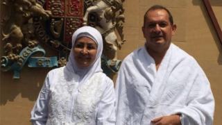 Simon Collis and Huda Mujarkech