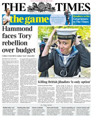 Newspaper headlines: Budget 'ambush' and transition understanding plea
