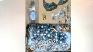 Suspected stolen jewellery