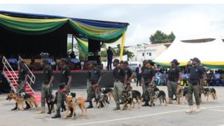 The deployment of Police dogs is therefore meant for detection or prevention crimes along the railway corridors.