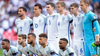 England national football team