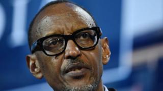 Le président rwandais Paul Kagame