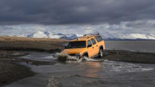 permafrost do carro