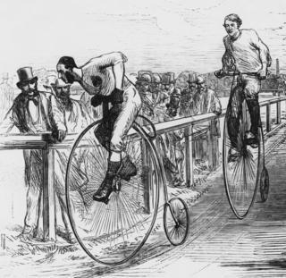 """""""Велосипед-жөргөмүштөрдүн"""" жарышы, Лондон 1860-жылдар"""