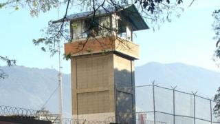 Puesto de vigilancia en cárcel venezolana