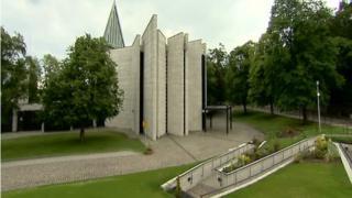 Mortonhall crematorium in Edinburgh