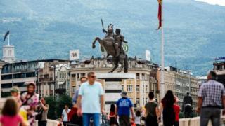 памятник Александру Македонскому в Скопье