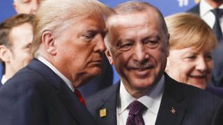 Дональд Трамп и Релдеп Эрдоган