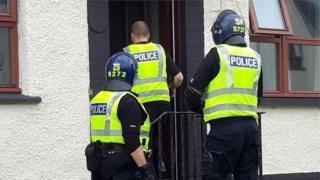 Police Scotland raid