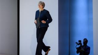 Theresa May at Davos