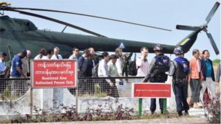 ကုလသမဂ္ဂ လုံခြုံရေးကောင်စီအဖွဲ့ဝင်တွေရဲ့ ဧပြီလကုန်က မြန်မာခရီးစဉ်