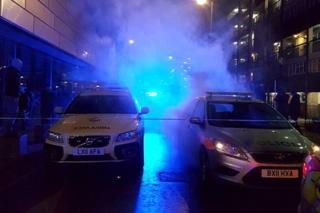 Police cars in Deptford