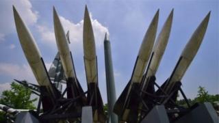 Scud raketinin replikası