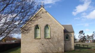 St Oswalds in Tunbridge, one of the Anglican churches to be sold in Tasmania