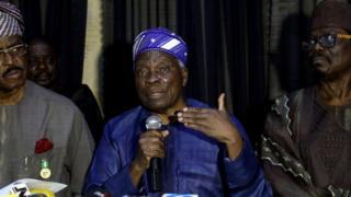 Aworan ọjọgbon Akintoye ati awọn asaju Yoruba miran