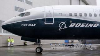 Boeing 737 Max plane