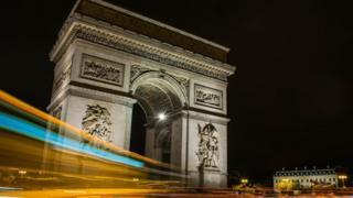 Arco del Triunfo en París (Foto: Agustín Caro)
