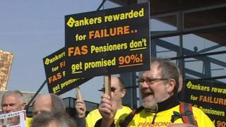 ASW pensioners protest