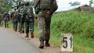 Waasi wa ADF wanaopetekeleza opresheni zao mashariki mwa DR Congo