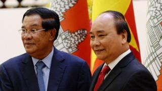 Ông Hun Sen đã có chuyến thăm Việt Nam hòi 12/2016