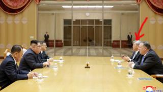 Kim and Pompeo talks in Pyongyang