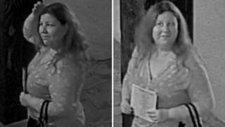 CCTV of woman police are hunting