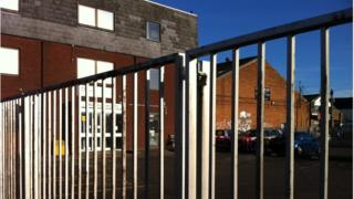 Picture of school gates