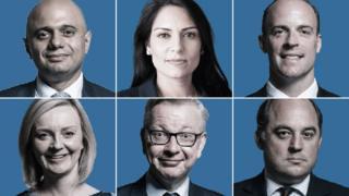 Key cabinet members