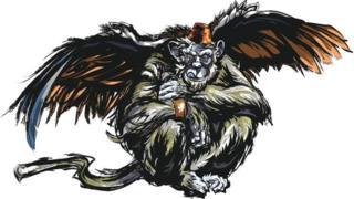 Winged monkey