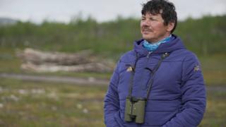 Nils Mathis Sara, a Sami chief