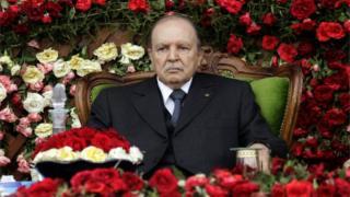 Cezayir Cumhurbaşkanı Abdülaziz Buteflika