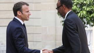 "Prezida Macron yavuze ko gutorera inyishu ""ibibazo bigoye vya kahise...bishobora gufata igihe"
