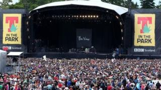 T in the Park festival