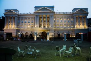 Replica of Buckingham Palace in Kolkata