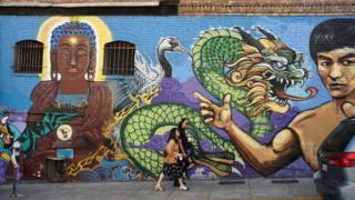 美國舊金山唐人街