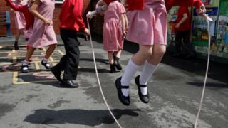 School children on playground (generic)
