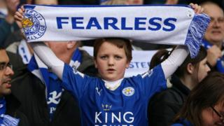Leicester City fan