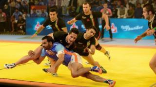 انڈیا اور ایران کبڈی مقابلہ
