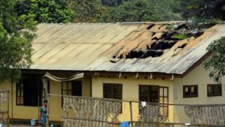 burnt house Manyu