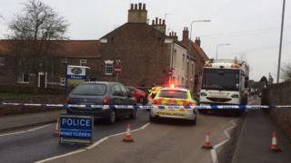 Police incident in Hedon, East Yorkshire