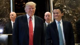 Trump và Jack Ma