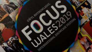 Focus Wales 2019 sign